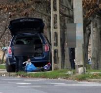 Villanyoszlopnak ütközött egy autó Dorogon
