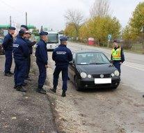 Közlekedésrendészeti ellenőrzést tartottak Esztergomban