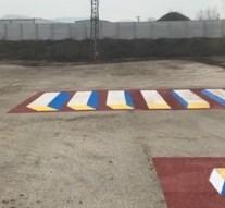 Videó: tesztelték a dorogi 3D zebrát