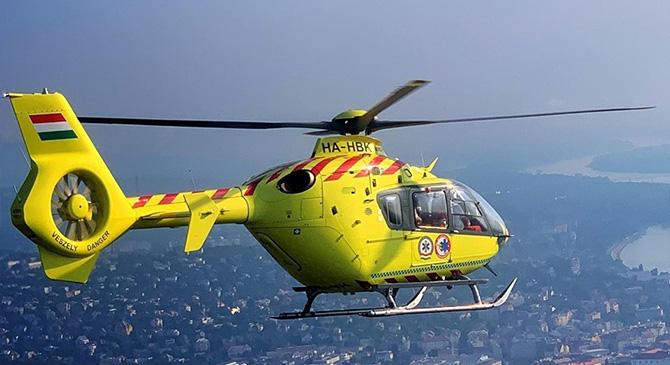 Kiváltották az osztrák mentőhelikoptereket