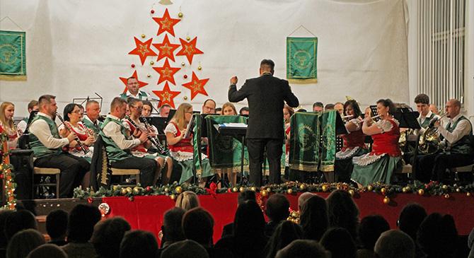 Karácsonyi koncertet rendeztek Mogyorósbányán
