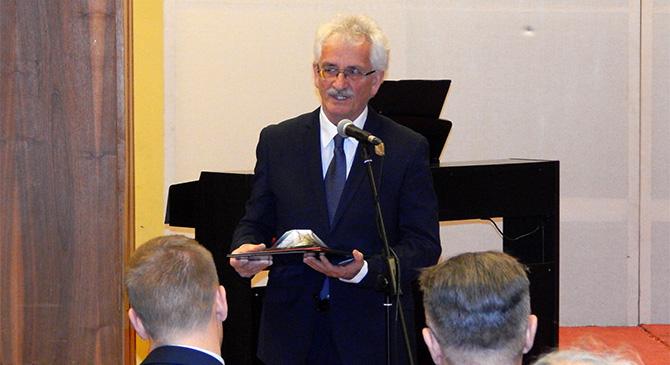 Dankó József kapta idén a Rauscher György-díjat