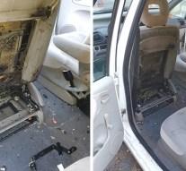 Kigyulladt egy gépjármű Tokodon