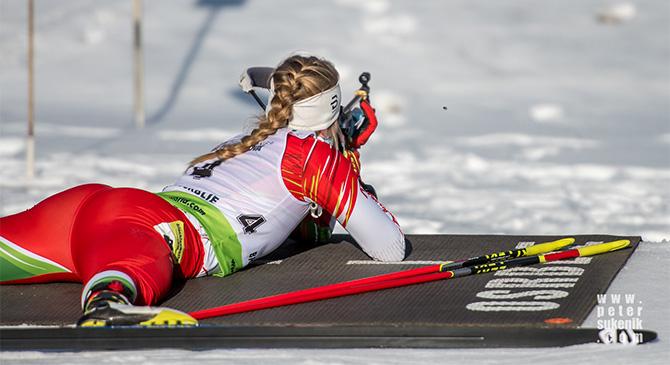 Először vesz részt biatlon világbajnokságon Pónya Sára