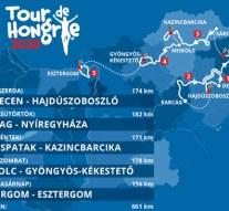 Ilyen lesz a Tour De Hongrie útvonala