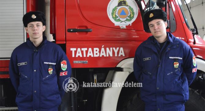 Újonc tűzoltók Esztergomban