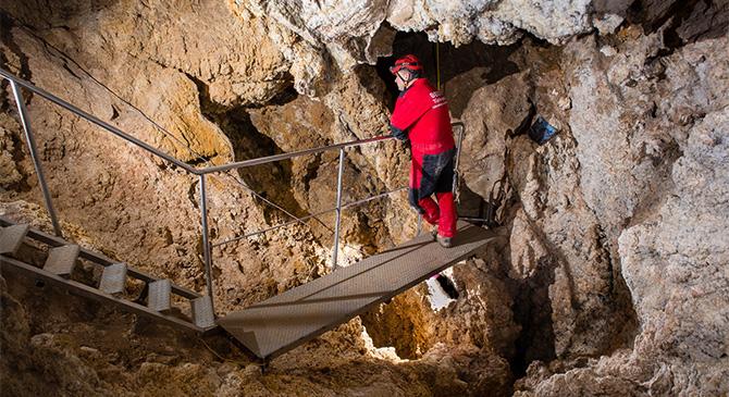 Kényszerszünet a Sátorkőpusztai-barlangban