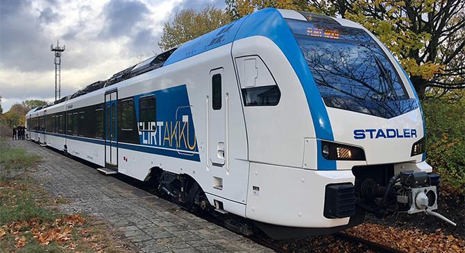 Hibrid vonatok érkezhetnek a jövőben az Esztergom-Komárom vasútvonalra is