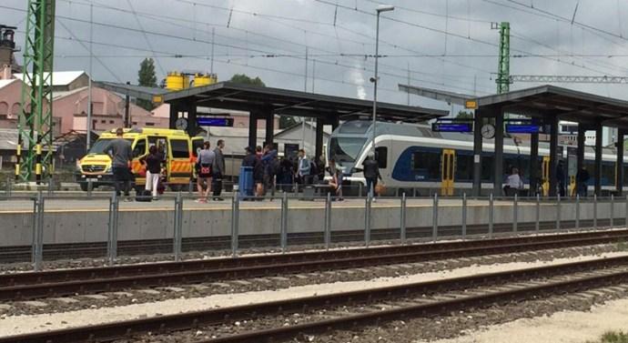 Vonatgázolás történt Dorogon
