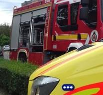 Villanyoszlopnak ütközött egy autó Pilismaróton