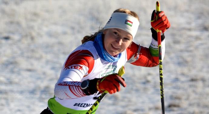Ismét remekel a biatlonos pilismaróti lány