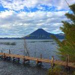 San Pedro volcano at Lake Atitlan near Doron Yoga & Zen Center yoga retreat in Guatemala