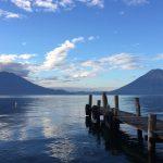 Lake Atitlan calming view near Doron Yoga & Zen Center yoga retreat in Guatemala