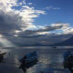 Lake Atitlan evening view near Doron Yoga & Zen Center yoga retreat in Guatemala