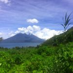 The view from yoga retreat space at Lake Atitlan is hard to beat