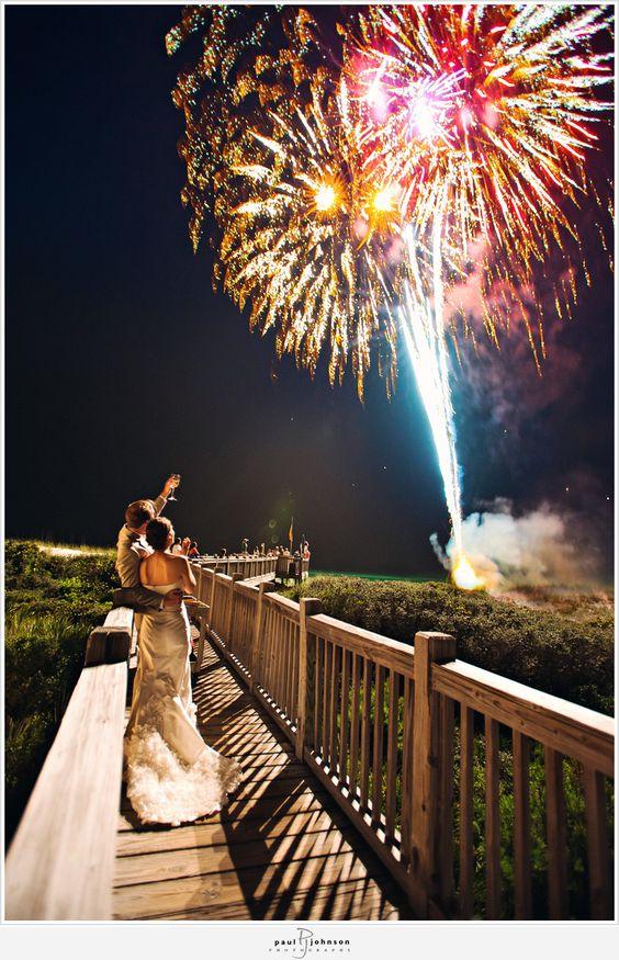 Pokaz sztucznych ogni, Fajerwerki, sztuczne ognie, jak zakończyć wesele z klasą, zakończenie wesela pomysły