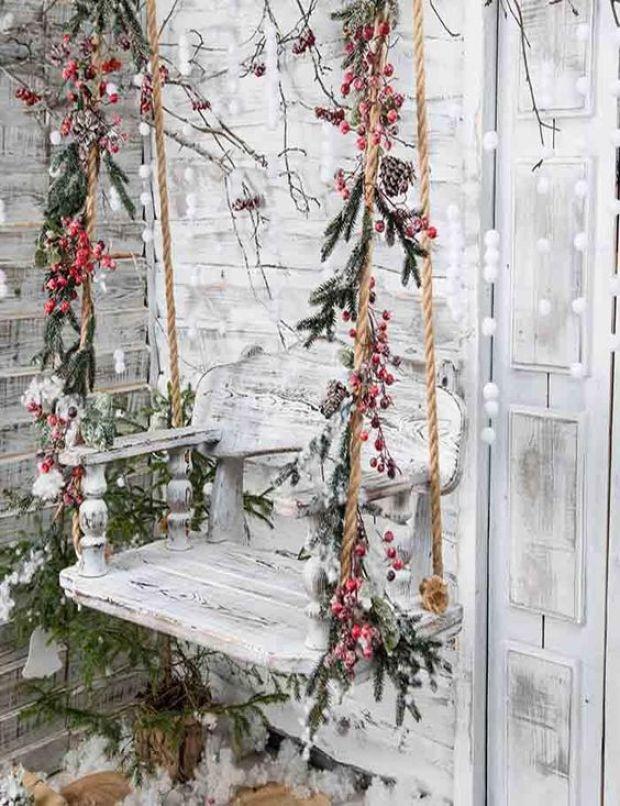 Huśtawka ślubna, dekoracje ślubne zimowe, Ślub zimą, Ślub w Święta, Ślub w Boże Narodzenie, Winter Wedding, Vinterbröllop, Mariage d'hiver, Winterhochzeit, Zimowy ślub, Zimowe wesele, dekoracje na Boże Narodzenie, Dekoracje na ślub zimą, Ślub w okresie zimowym