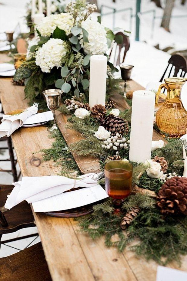 Dekoracje na Boże Narodzenie, Christmas table decor, Ślub zimą, Ślub w Święta, Ślub w Boże Narodzenie, Winter Wedding, Vinterbröllop, Mariage d'hiver, Winterhochzeit, Zimowy ślub, Zimowe wesele, dekoracje na Boże Narodzenie, Dekoracje na ślub zimą, Ślub w okresie zimowym