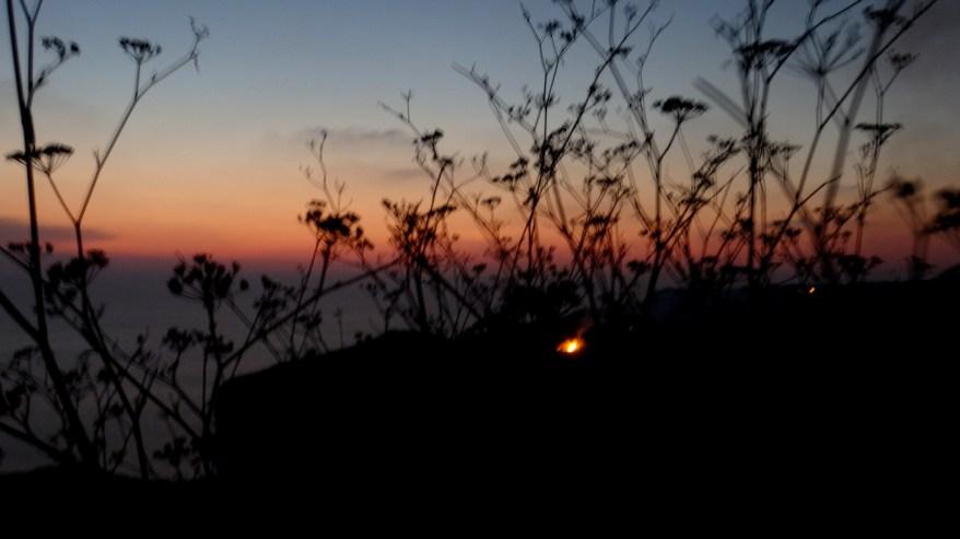 Sunset at Dingli Cliffs, Malta - another view