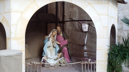 Crib at the Nunnery of St Benedict, Mdina, Malta