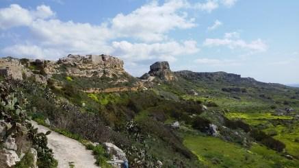 Il-Qleigha Rock, Bahrija, Malta