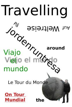 """T-shirt """"Travelling around the world"""""""