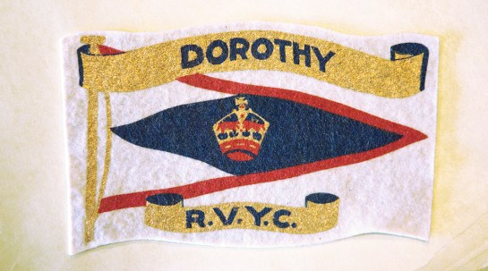 Dorothy badge RVYC-MMBC Archives