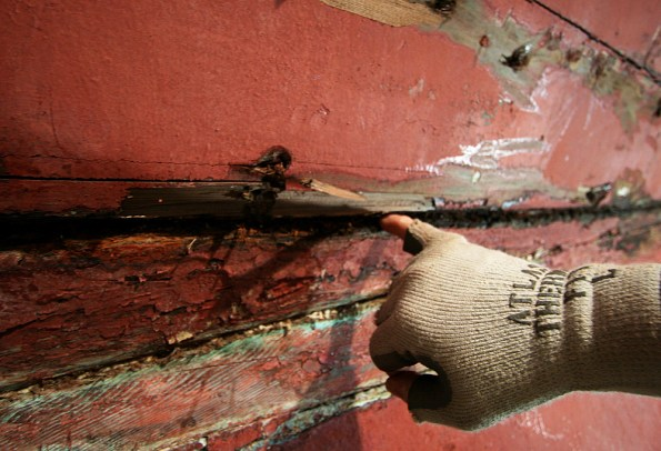 Dorothy Exploratory-Space between planks-Tony Grove