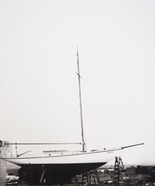 Dorothy ghosty boat hauled out-MMBC archives