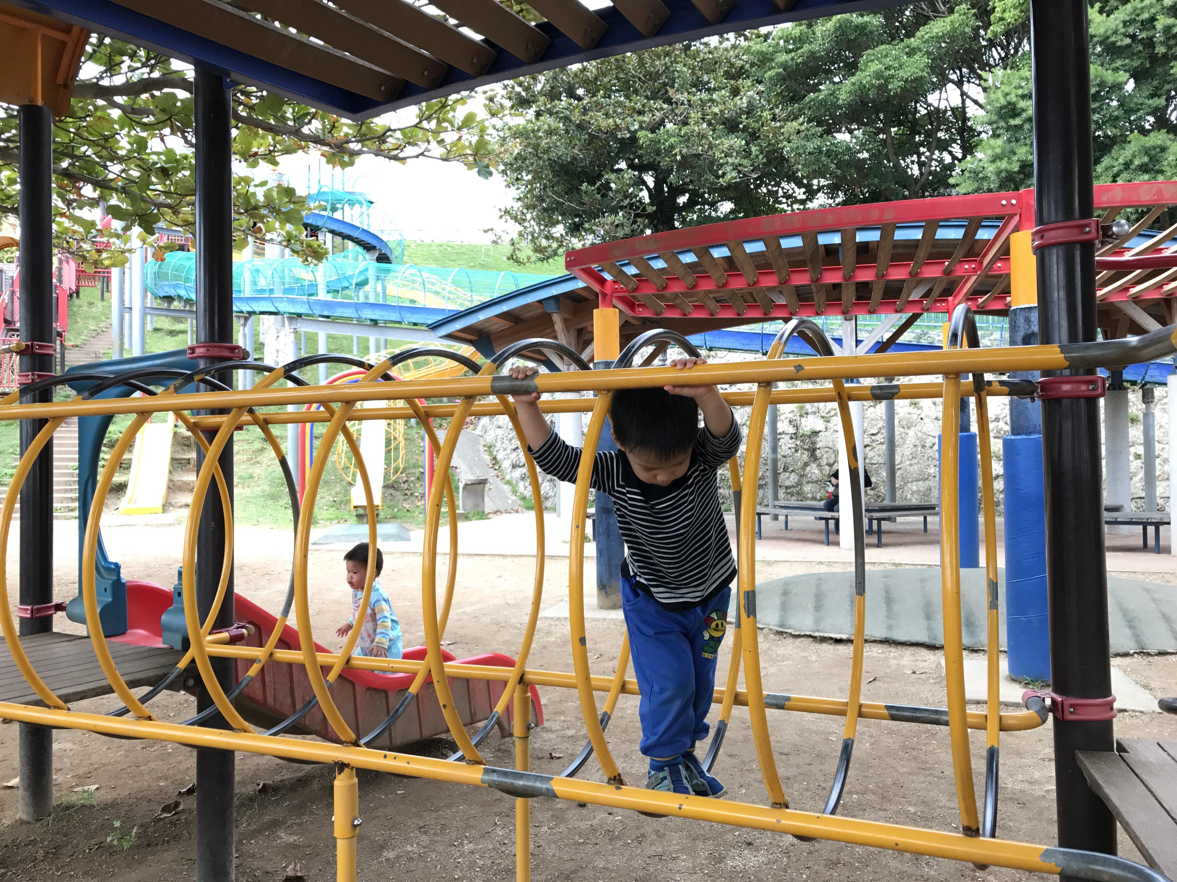 杉3Y2M&槿1Y7M 沖繩海軍壕公園 西崎親水公園 奧武山公園(浦添公園) – dorothyliving