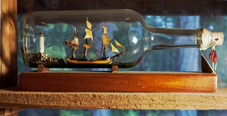 Ship in bottle-Klint Burton