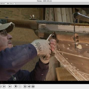 Uncrewing fastenings from rubrail-screenshot-Oct 2-2013