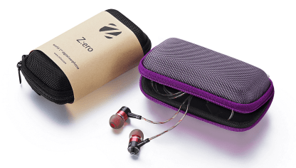Zero : DAC high powered amp earphones for OnePlus One - Red