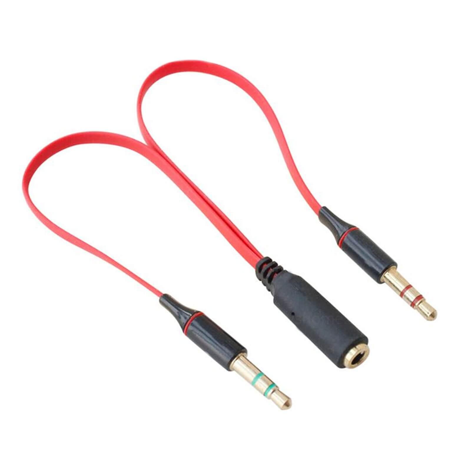 Cut The Male Male 3 5mm Headphone Lead And