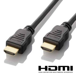 Medion Erazer Laptop HDMI to HDMI 4K Ultra HD TV Monitor 2m Gold Lead Wire Cord Cable