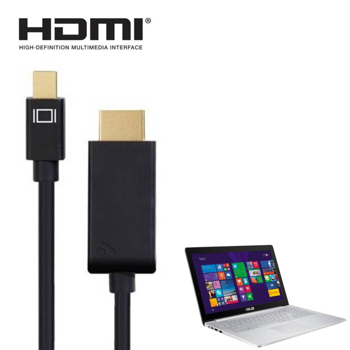 Asus Zenbook Pro Rog Laptop Mini Displayport Dp To Hdmi