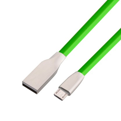 HTC Desire 650, 10 pro micro USB Fast Charger & Data Laptop PC Lead Wire Cord Cable – Green