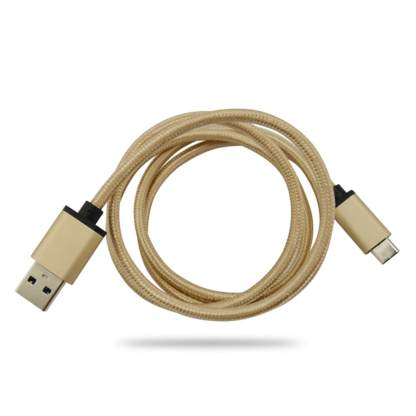 Apple MacBook Laptop PC USB-C to USB-A 3.1 Data Sync Gold Wire Lead Cable