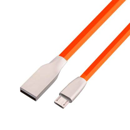 Lenovo Tab 3, 2 tablet micro USB Charger/Data Lead Wire Cord Cable - Red