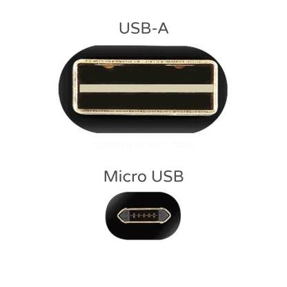 Sony Xperia X, XA, Z5 Compact micro USB Reversible Charger Charge & Data Sync Laptop PC 2m Lead Wire Cord Cable - Gold/Black
