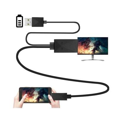 Sony Xperia Z5, Z3, Z1 Compact Premium Plus (Smartphone USB Micro to HDMI TV) MHL Adapter Lead Wire Cable