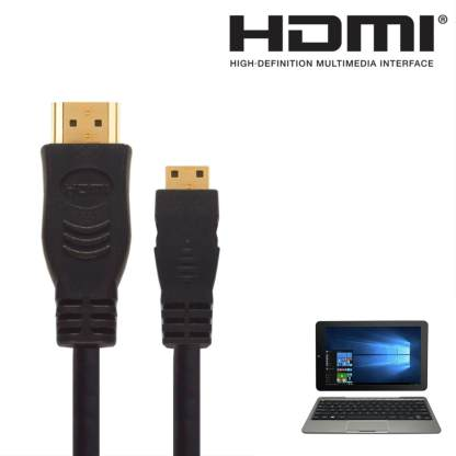 Venturer Elitewin, Bravowin S HDMI Mini to HDMI TV 3m Gold Cord Wire Lead Cable