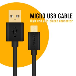 Voxlink USB Micro Charger/Data Lead Wire Cable for Huawei Honor 6X, P10 Lite Smartphones
