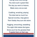 Wrote this poem for my husband for father s day the children are