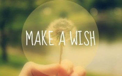 When you wish…