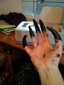 Daedric Armor WIP - Gloves