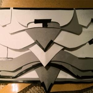 Daedric Armor WIP - Torso