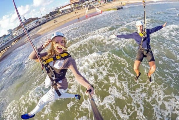 Selfie From Bournemouth Pier Zipline
