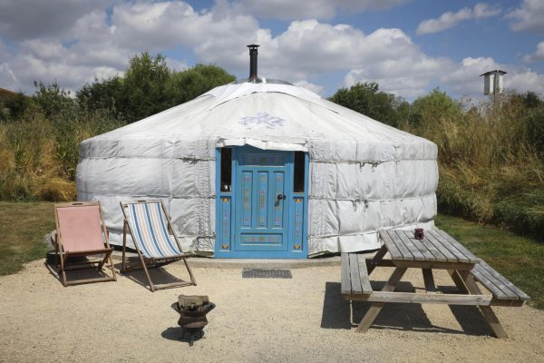 Foxglove Yurt at Caalm Camp