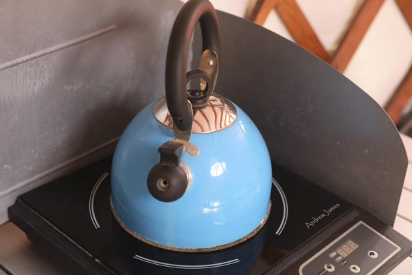 Kettle on a Hot Plate